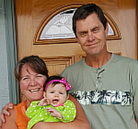 Pastor Craig, Tami, and Alice photo
